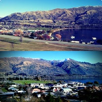 Photo taken at Lake Wanaka by Anas . on 6/9/2013