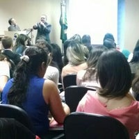 Photo taken at Auditório de Direito by Richard J. on 9/26/2014