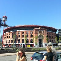 Photo taken at Arenas de Barcelona by Hector I. on 9/24/2012