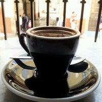 Photo taken at CAFE TAL by Alejandra R. on 4/15/2013