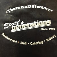 Photo taken at Scott's Generations Deli by Vanessa A. on 4/18/2013