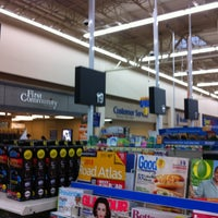 Photo taken at Walmart Supercenter by Fred T. on 6/5/2013