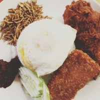 Photo taken at Ponggol Nasi Lemak Centre by David C. on 11/9/2012