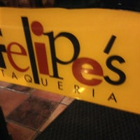 Photo taken at Felipe's Mexican Taqueria by James B. on 1/9/2013