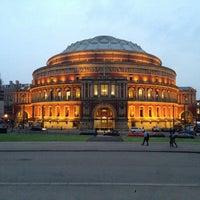 Photo taken at Royal Albert Hall by Jonathan C. on 6/19/2013