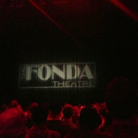 Photo taken at The Fonda Theatre by Eric F. on 7/18/2013