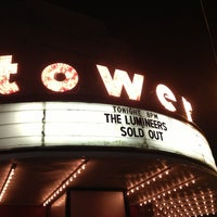 Photo taken at Tower Theater by Kimberlee S. on 2/1/2013