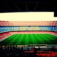 Photo taken at Camp Nou by Rashed A. on 5/17/2013
