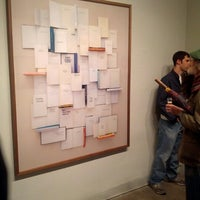 Photo taken at Jen Bekman Gallery by MuseumNerd on 10/19/2012