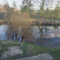 Photo taken at Krogs Pie Mazās Juglas by Anita A. on 4/30/2015