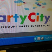 Photo taken at Party City by Samantha K. on 4/3/2013