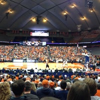Photo taken at Carrier Dome by Kristin H. on 11/22/2012