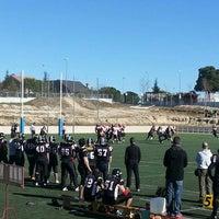 "Photo taken at Escuela Municipal de Rugby ""El Cantizal"" by Francisco J. C. on 2/2/2014"