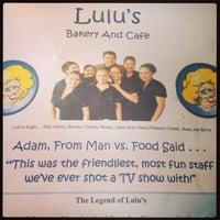 Photo taken at Lulu's Bakery & Cafe by Alana W. on 7/6/2013