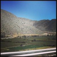 Photo taken at Mina Los pelambres by Pablo V. on 4/8/2013