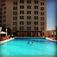 Photo taken at Sheraton Amman Al Nabil Hotel by Dimitris C. on 6/13/2013
