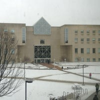 Photo taken at IUPUI:  University Library (UL) by Brian S. on 3/6/2013