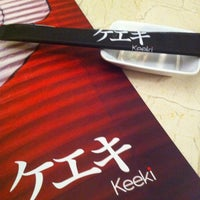 Photo taken at Keeki Restaurante Japonês by Renata C. on 11/17/2012