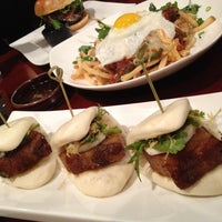 Photo taken at Bachi Burger by ✌Maryanne D. on 11/25/2012