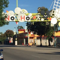 Photo taken at NoHo Sign by Danielle L. on 11/9/2016