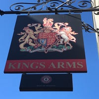 Photo taken at King's Arms by Baz K. on 8/12/2016