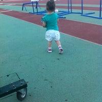 Photo taken at Κλειστό Γυμναστήριο Άργους by Charisa P. on 7/14/2014