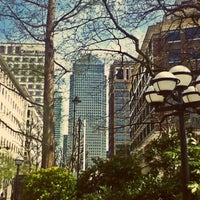 Photo taken at Canary Wharf by Julia J. on 4/24/2013