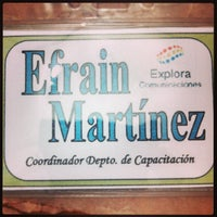 Photo taken at Explora Comunicaciones by Efrain M. on 8/13/2013