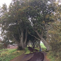 Photo taken at The Dark Hedges by Petr K. on 10/14/2016