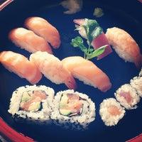 Photo taken at Tsuru Sushi all'Osteria by Simone D. on 4/13/2013