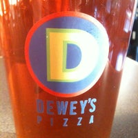 Photo taken at Dewey's Pizza by Dallas M. on 10/8/2012