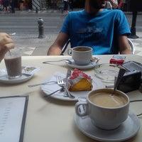 Photo taken at Cafetería Lisboa by Bahar K. on 9/27/2013