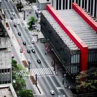 Photo taken at São Paulo Museum of Art by Felipe A. on 10/19/2012