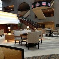 Photo taken at Sheraton Kansas City Hotel at Crown Center by Jovan W. on 3/10/2013