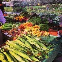 Photo taken at Copley Square Farmer's Market by Bryan B. on 8/13/2013