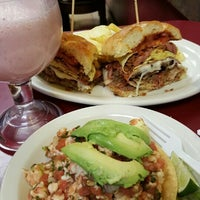 Photo taken at Los Reyes de la Torta by Sally H. on 12/3/2015