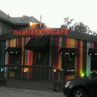 Photo taken at Barnaby's Cafe by Jay N. on 11/13/2011