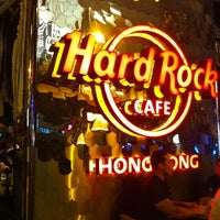 Photo taken at Hard Rock Café Hong Kong by Mr.Abdulla on 10/22/2011