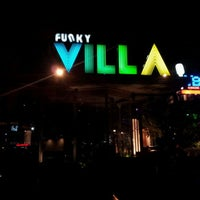 Photo taken at Funky Villa by Pan T. on 4/29/2012