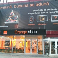 Photo taken at Orange Shop by George C. on 12/16/2013