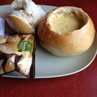 Photo taken at Panera Bread by Abby A. on 4/17/2013
