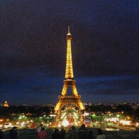 Photo taken at Eiffel Tower by Rana M. on 10/21/2013
