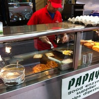 Photo taken at Papaya Dog by Mark B. on 5/18/2013