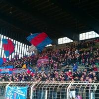 Photo taken at Grotenburg-Stadion by Samla Fotoagentur w. on 4/7/2013
