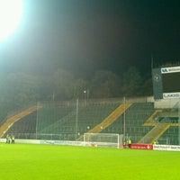 Photo taken at Grotenburg-Stadion by Samla Fotoagentur w. on 11/2/2012