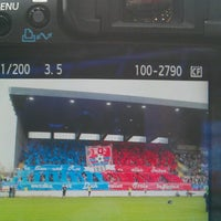 Photo taken at Grotenburg-Stadion by Samla Fotoagentur w. on 4/17/2013