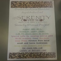 Photo taken at Serenity Coffee Shop by Amanda V. on 7/25/2013