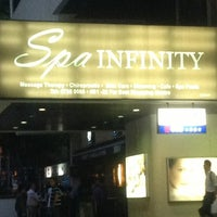 Photo taken at Spa Infinity by Fatimah Mas Ayu on 7/19/2013