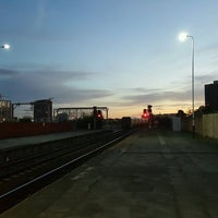Photo taken at Salford Central Railway Station (SFD) by Matthew B. on 8/26/2016