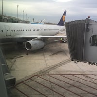 Photo taken at Gate E70 - Aeroport T1 by America D. on 1/3/2016